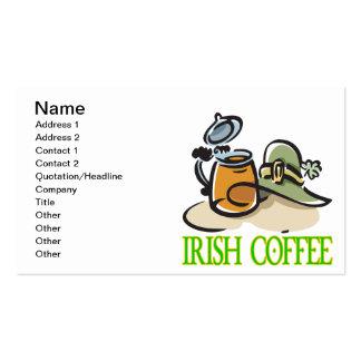 Irish Coffee Business Cards