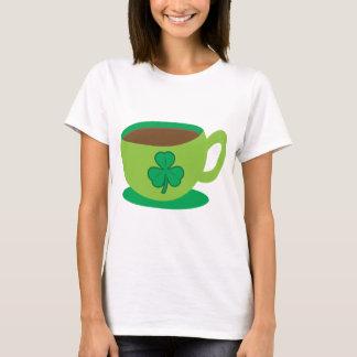 IRISH coffee CUP with a shamrock T-Shirt