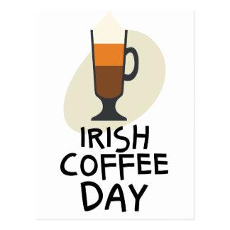 Irish Coffee Day - Appreciation Day Postcard