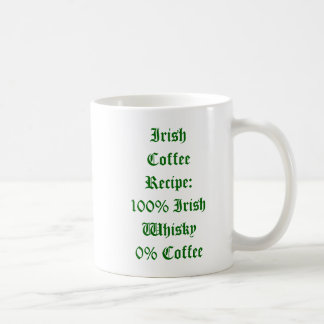 Irish Coffee Humor Mug