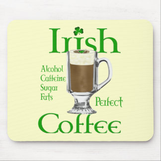 Irish Coffee lovers gifts Mouse Pad