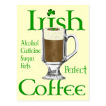 Irish Coffee lovers gifts Postcard