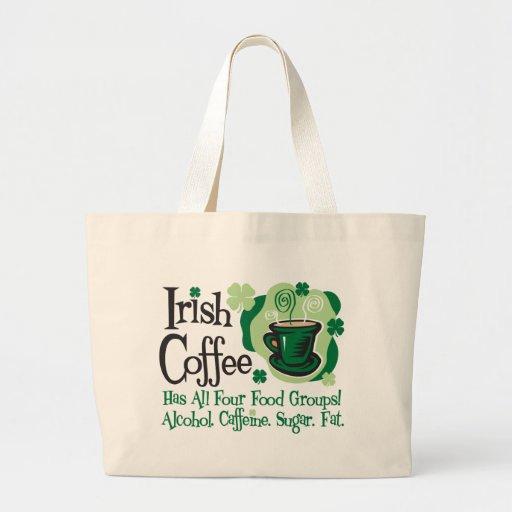 Irish Coffee Tote Bag