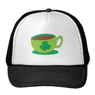 irish coffee trucker hat