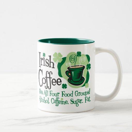 Irish Coffee Two-Tone Coffee Mug