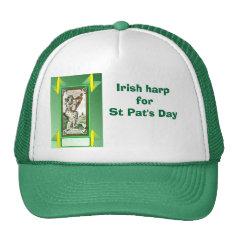 Irish colleen for St Pat's Day Mesh Hat