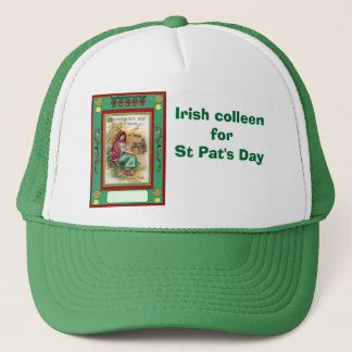 Irish colleen for St Pat's Day Trucker Hat