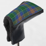 Irish Colors Clan McAuliffe MacAuliff Tartan Plaid Golf Head Cover