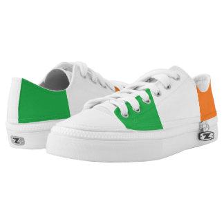 """Irish Colors"" Zipz Sneakers"