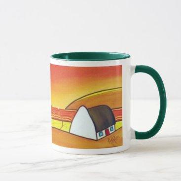 cloudsendgallery Irish Cottage at Sunset Mug
