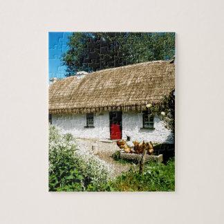 Irish cottage jigsaw puzzles