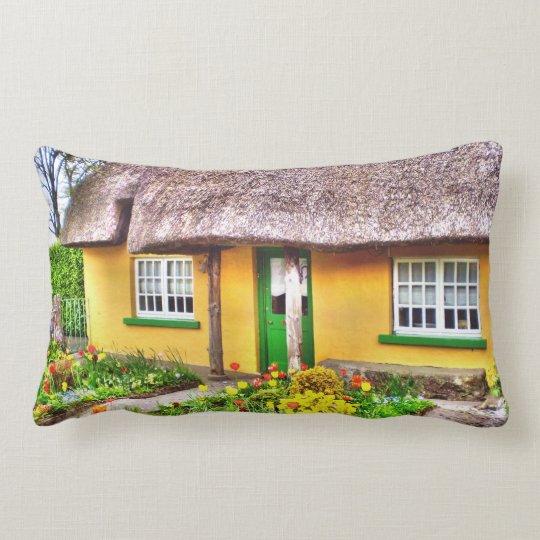 Irish Cottage Lumbar Pillow