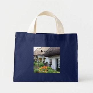 Irish Cottage Mini Tote Bag