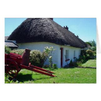 Irish Cottage notecards Card