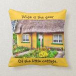 Irish Cottage Pillow
