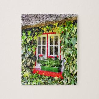 Irish Cottage Window Puzzle