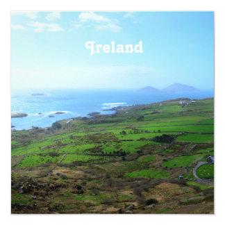 Irish Countryside 5.25x5.25 Square Paper Invitation Card