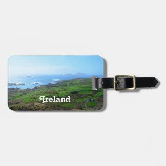 Irish Countryside Luggage Tag