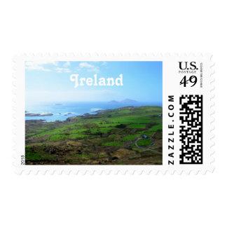 Irish Countryside Postage Stamp