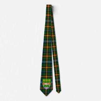 Irish County Down With Crest Tartan Tie