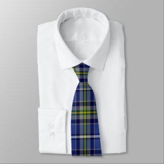 Irish County Waterford Tartan Tie