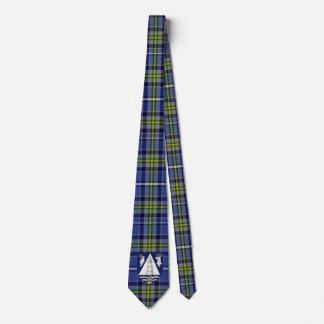 Irish County Waterford With Crest Tartan Neck Tie