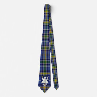 Irish County Waterford With Crest Tartan Tie