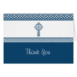 Irish Cross | Thank You Stationery Note Card