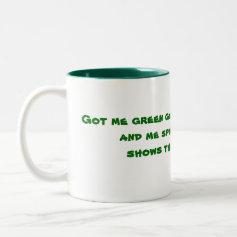 Irish cup mugs