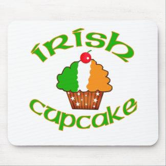 Irish Cupcake Mouse Pads