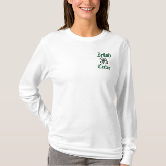 Irish Cutie Embroidered Apparel Embroidered Long Sleeve T-Shirt