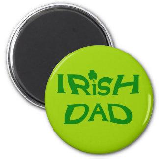 irish dad 2 inch round magnet