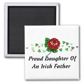 Irish Dad 2 Inch Square Magnet