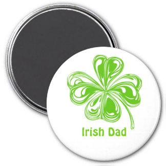 Irish Dad 3 Inch Round Magnet