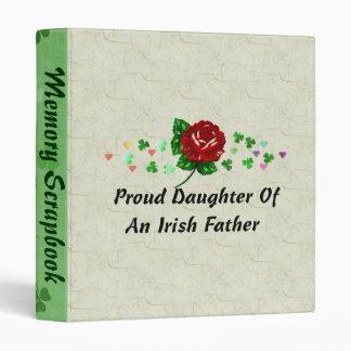 Irish Dad Binder