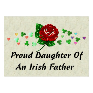 Irish Dad Large Business Cards (Pack Of 100)