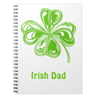 Irish Dad Spiral Note Book