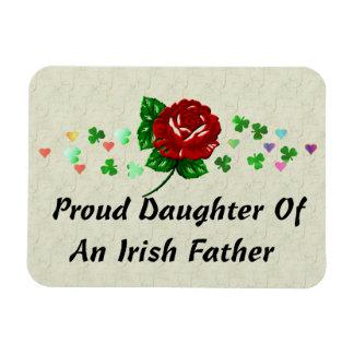 Irish Dad Rectangular Photo Magnet