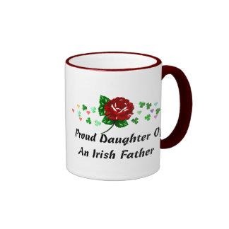 Irish Dad Ringer Coffee Mug