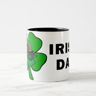 Irish Dad Two-Tone Coffee Mug
