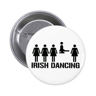 Irish dance pinback buttons