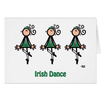 Irish Dance Card