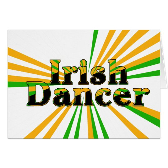 Irish Dance Card
