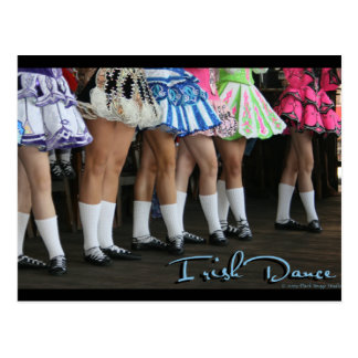 Irish Dance Champion Postcard