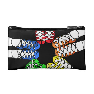 Irish Dance Colored Ghillies Makeup Bag