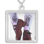 Irish Dance Hard Shoe Necklace