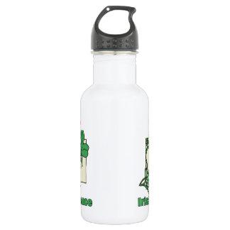 Irish Dance Heart Stainless Steel Water Bottle