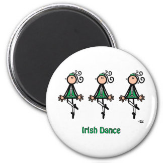 Irish Dance Fridge Magnet