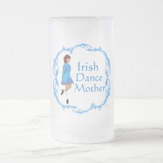 Irish Dance Mother - Blue 16 Oz Frosted Glass Beer Mug