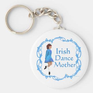 Irish Dance Mother - Blue Keychain